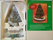 Lionel Holiday Collection Christmas Tree W/ Blue Comet Train 7-22991 Ts
