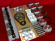 Buick 364 Master Deluxe Engine Kit 1957-58 Cam+pistons+gaskets+bearings+valves