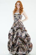 Camo Dress With Pickups In Mossy Oak Country Size 8