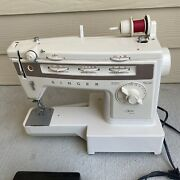 Vintage Singer Stylist 834 Sewing Machine W/ Foot Pedal - Fully Functional