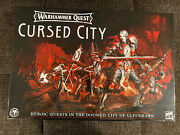 Games Workshop Warhammer Quest Cursed City New Sold Out Hard To Find