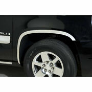 Polished Stainless Steel Full Fender Trim For 2007-2014 Chevy Suburban