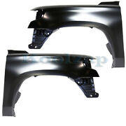 15-20 Chevy Suburban And Tahoe V8 Front Fender Quarter Panel Left And Right Set Pair