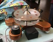 Wayneand039s Audio Turntable Record Stabilizing Clamp Center Weight Lp Stabilizer Vpi