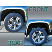 4-piece Wheel Well Accent Trim Fit For 2015-20 Chevy Colorado [stainless Steel]