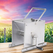 Manual Grape Wine Cider Press Juice Crusher Equipment Stainless Steel Sliver New