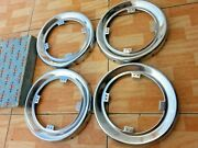 Nos 1953 Buick Accessory Wire Wheel Cover Hubcap Stainless Center Hub 1391640