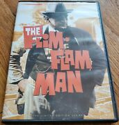Twilight Time Dvd The Flim Flam Man Limited Edition Series Oop Rare