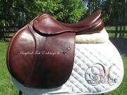 18 County Innovation Close Contact Jumping Saddle-wool Flocked- 2011 Model
