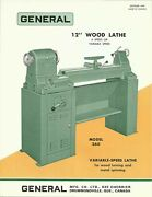 General Model 260 Wood-turning And Metal-spinning Lathe Brochure 1975 Gm10