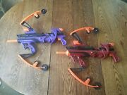 Nerf Big Bad Bows Lot - Hasbro - Working - No Arrows - Kids Youth Bow Archery