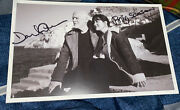 David Gilmour And Polly Samson Signed 6x9 Photo Book A Theatre For Dreamers