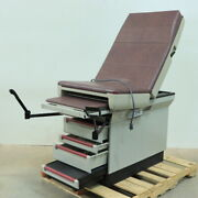 Midmark 404 404-005 Exam Table W/ Stirrups And Drawers