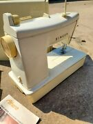 Vintage Singer Athena 1060 Sewing Machine With Foot Pedal Manual Case Etc Works