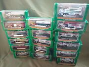 Hess Mini Truck Lot 1998 Through 2014 Includes All 17 - 1999 2000 2002 2003...