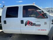 08 Ford F450 Super Duty Front And Rear Left / Right White Manual Doors No Rust