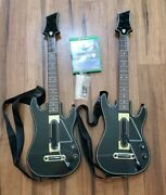 Guitar Hero Live Bundle Xbox One Series X W 2 Guitars 1 Dongle 2 Straps And 1 Game