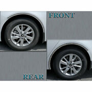 6-piece Wheel Well Accent Trim Fit For 2016-2020 Kia Optima [stainless Steel]