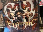 The Cult Signed Autographed Electric Massive Poster Rare Billy Duffy Ian Astbury