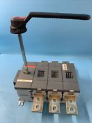 Abb Ot1200u03 1200 A Disconnect Switch 600v 3p Mounting Kit Recondition