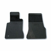 Acc Black Floor Mats Fits 2005-09 Ford Mustang V6/gt-diamond Plate Powder Coated