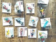 Barclayand039s Pee Wee League Lot Of 12 Different Circus Figures Lead O Scale