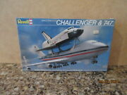 Revell 1/288 Scale Space Shuttle Challenger And 747 Nip