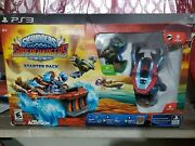 Skylanders Superchargers Starter Pack Ps3 Play Station 3 New Damaged Box