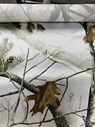 Roll Of Camo Fabric Realtree Ap Snow 150 Yards 100 Satin/polyester