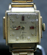 Rensie Avalon Watch Co. Art-deco Wristwatch Gold Filled For Repair R3m2