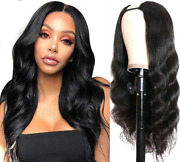 U Part Wig Quick And Easy Affordable Human Hair Wig Real Scalp Glueless Human Hair