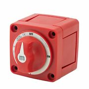 Blue Sea 6006 M-series Battery Switch Single Tool Circuit On/off Marine Boat