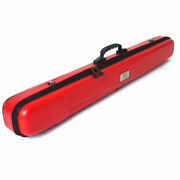 Fishing Rod Case Travel Pole Carry Case Tackle Bag Red Black