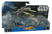 Star Wars Hot Wheels Rogue One The Striker Vs. X-wing Fighter Toy Starship 2-pac