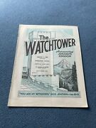 The Watchtower Announcing Jehovah Kingdom February 1, 1969 Volume Xc Magazine