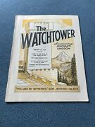 The Watchtower Announcing Jehovah Kingdom February 15, 1969 Volume Xc Magazine