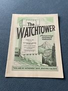 The Watchtower Announcing Jehovah Kingdom March 15, 1969 Volume Xc Magazine