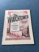 The Watchtower Announcing Jehovah Kingdom April 1, 1969 Volume Xc Magazine