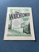 The Watchtower Announcing Jehovah Kingdom June 1, 1969 Volume Xc Magazine