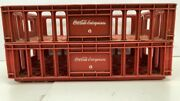 2 Red Vintage Coca Cola Coke Bottle Crate/carriers