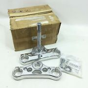 Nos Genuine Harley 2006 Up Dyna Upper Lower Triple Tree Clamp Kit 46311-07