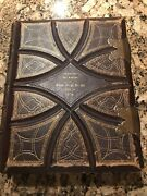 1869 Holy Bible By William W Harding