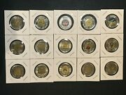 Lot Of Canadian Quarters / Toonies / Loonies Coin Sets