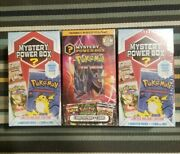 Sealed Pokemon Mystery Power Boxes 3 Total 1st Edition Vintage Packs 110 150