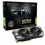Graphic Board[genuine National] Evga Geforce Gtx 1070 Ftw Gaming Acx 3.0 Grjapan