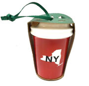 Starbucks New York Ny Local Ornament Usa State Red Cup 2016 Mermaid Ceramic