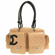 Cambon Line Multi-pocket Shoulder Bag Lambskin _5698