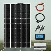 Flexible Solar Panel System 240 Watt 18v Complete Kit With Controller 1000w Inve