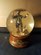 Weary Willie Authorized Edition Emmett Kelly Musical Snow Globe
