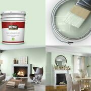 5 Gal. M400-2 Glass Tile Flat Low Odor Interior Paint And Primer In One